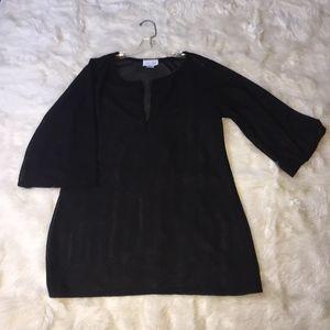 Jordan Taylor black swimsuit coverup XL